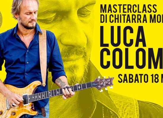 Masterclass con Luca Colombo